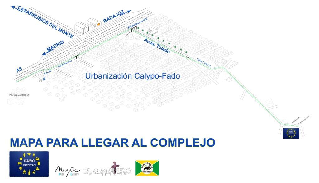 Mapa para Llegar al Cementerio